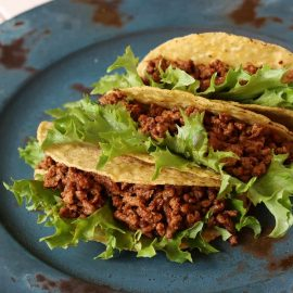 image of tacos on plate